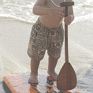 Hawaiian Cabana Set & Quiksilver Aloha Shirt